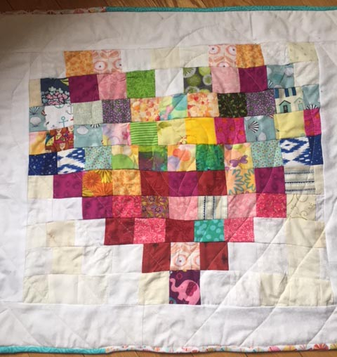 Cally's first quilt